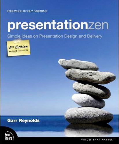 Boekomslag Presentation Zen van Garr Reynolds