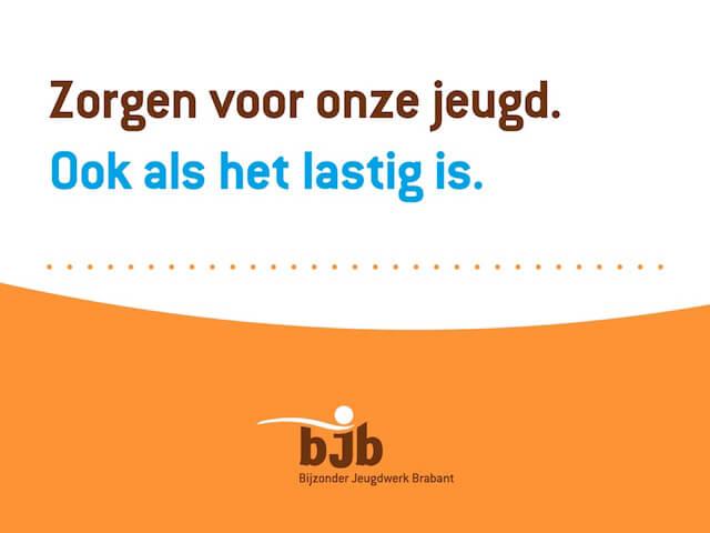 Voorbeeld-dia uit PowerPoint-presentatie Bijzonder Jeugdwerk Brabant