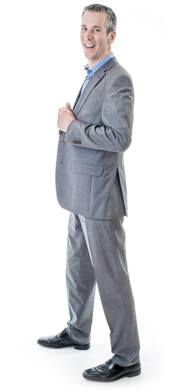 Profielfoto van presentatie-specialist Joeri Cox