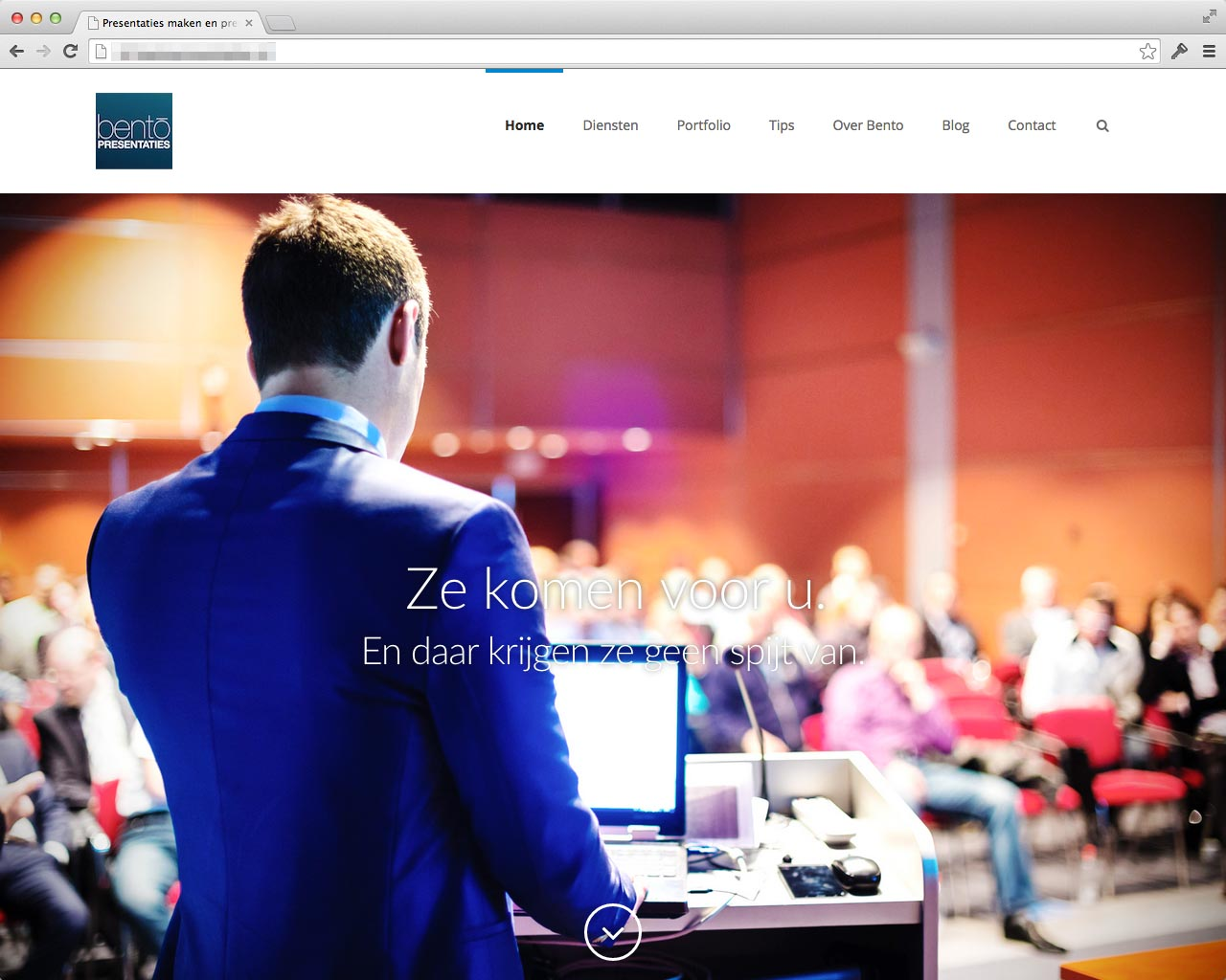 Website Bentopresentaties.nl v3 (vanaf september 2014)