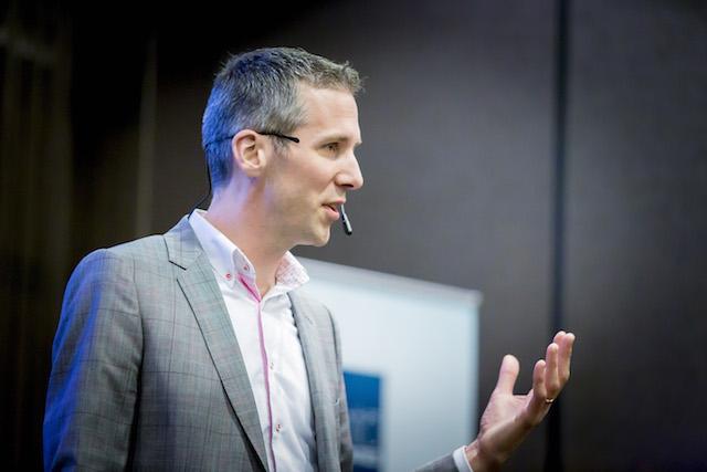 Joeri Cox geeft seminar over het maken van betere presentaties