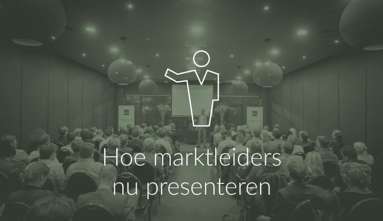 Blogartikel over hoe marktleiders presenteren