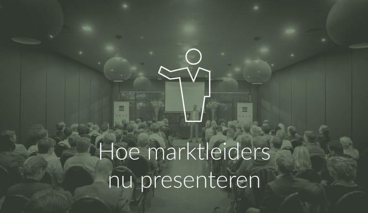 Blogartikel over hoe marktleiders presenteren