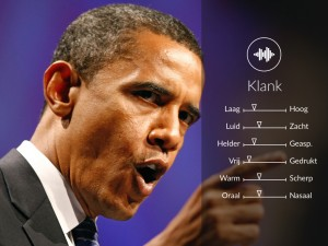 Stem-analyse Barack Obama