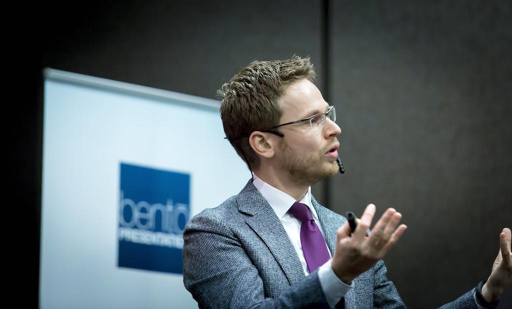 presentatie-specialist Arnout Drenthel