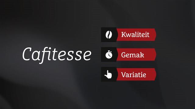 Voorbeeld uit presentatie Cafitesse (DE Master Blenders)