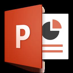 Icoon van PowerPoint 2016 voor Mac