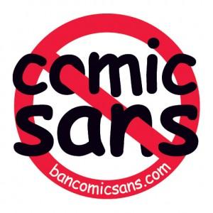 Logo Ban Comic Sans