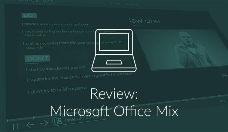 Online presentaties delen met Office Mix (review)