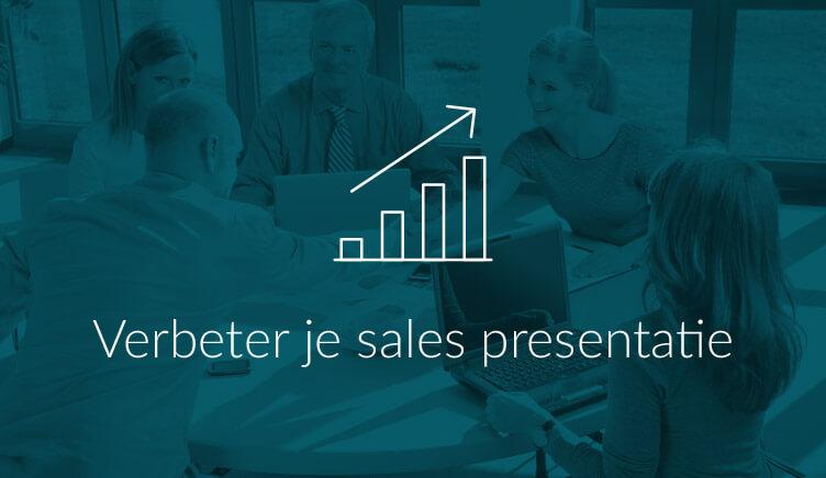 Illustratie bij artikel over verbeteren sales presentatie