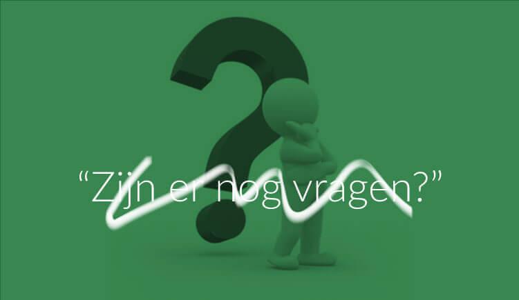 """Illustratie bij artikel """"Zijn er nog vragen?"""""""