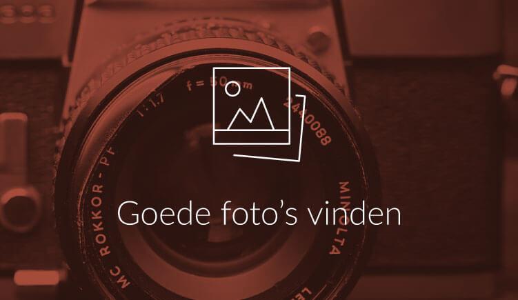 Goede foto's vinden voor je presentatie
