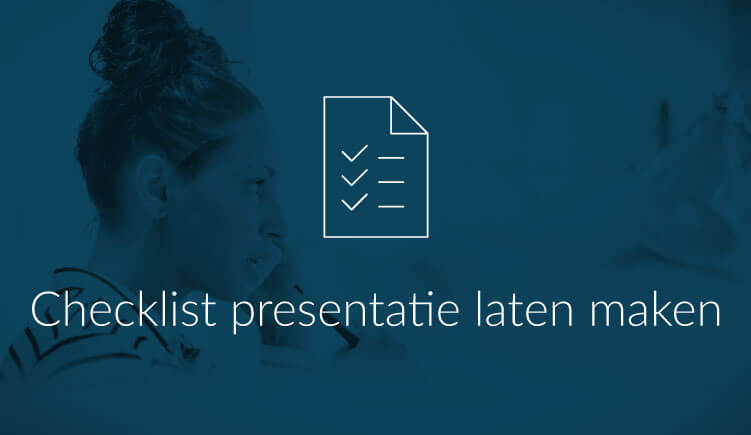 Illustratie bij artikel Checklist presentatie laten maken