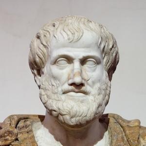 Ethos was een van de drie middelen van overtuiging volgens Aristoteles (foto: wikimedia)