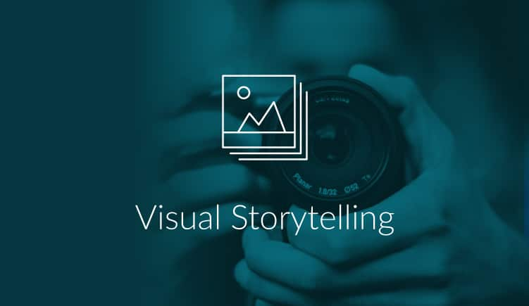 Blogartikel over visual storytelling in presentaties
