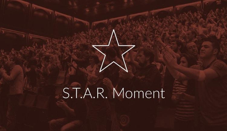 serie blogartikelen over onvergetelijk presenteren met een S.T.A.R. Moment