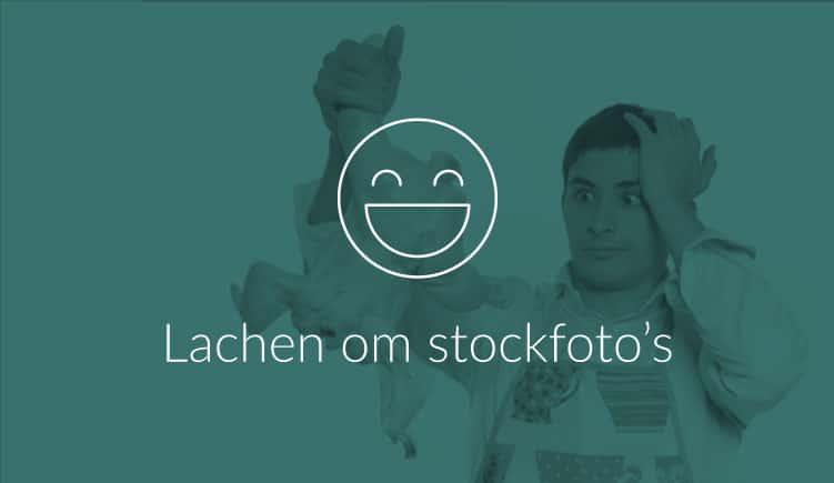 Blog - lachen om slechte stockfoto's